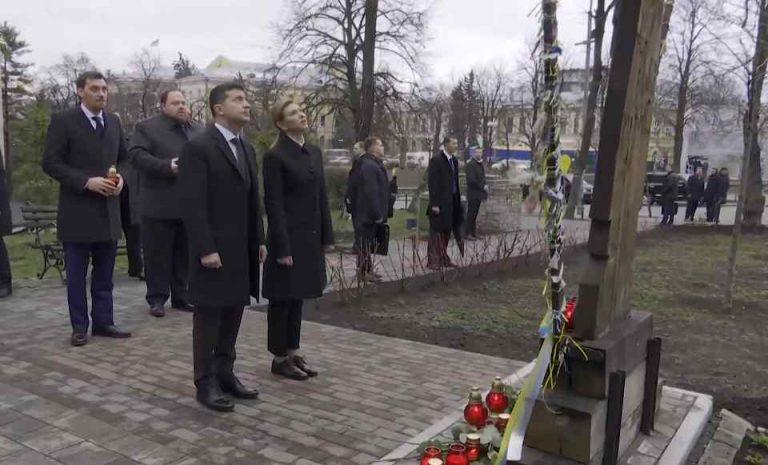 """""""Винні обов'язково повинні отримати покарання"""": Зеленський вшанував пам'ять загиблих на Майдані"""