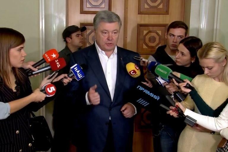 """""""Спочатку скажіть, куди ви підете"""" – Порошенко прокоментував заяву Пристайка про вихід з Мінських угод"""