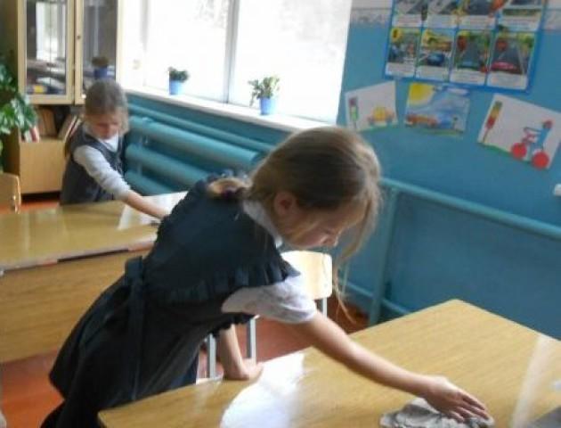 Батьки SOS: діти не зобовязані прибирати у школі.