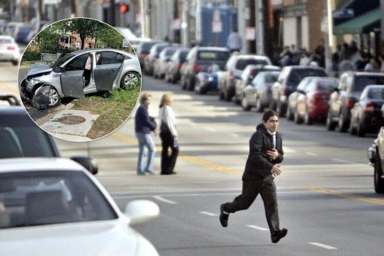 В Україні вперше оштрафували пішохода: чоловік має сплатити водію 100 тисяч гривень (відео)