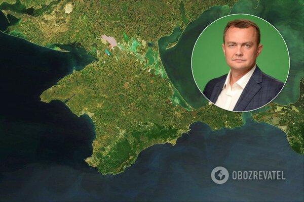"""""""Слуга народу"""" назвав Крим російським і запропонував продавати йому воду"""