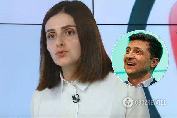 """""""Не обіцяв повернути Крим"""": """"слуга народу"""" зробила скандальну заяву про Зеленського"""