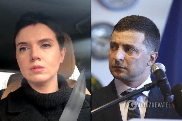 """""""Президенте, зараз не кіно!"""" Соколова потужно звернулася до Зеленського через бій під Золотим"""