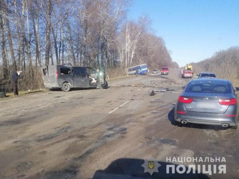 Під Сумами автобус потрапив у ДТП: загинули три людини, які їхали з Москви
