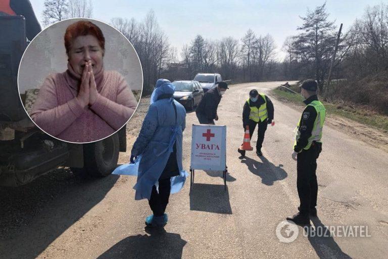 """Жінка, яка заразила коронавірусом села на Буковині, звинуватила у всьому чоловіка: """"Розплата Божа попереду"""