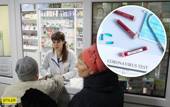 Повідомили, коли в українських аптеках з'являться експрес-тести та скільки коштуватимуть