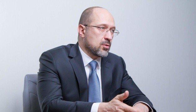 Шмигаль відкинув можливість поставок води до Криму