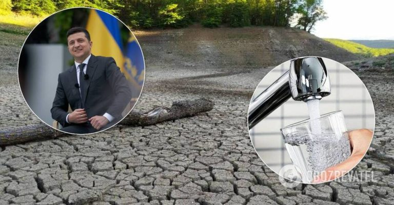Зеленський озвучив свою позицію щодо подачі води до Криму