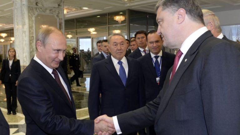 """""""Рад слышать"""", """"жму руку"""": опублікована розмова Порошенка і Путіна в квітні 2015 року"""