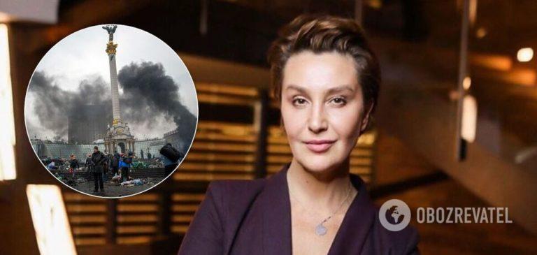 """Єгорова назвала Майдан """"кривавим бенкетом"""" і """"корпоративчиком на всю країну"""""""