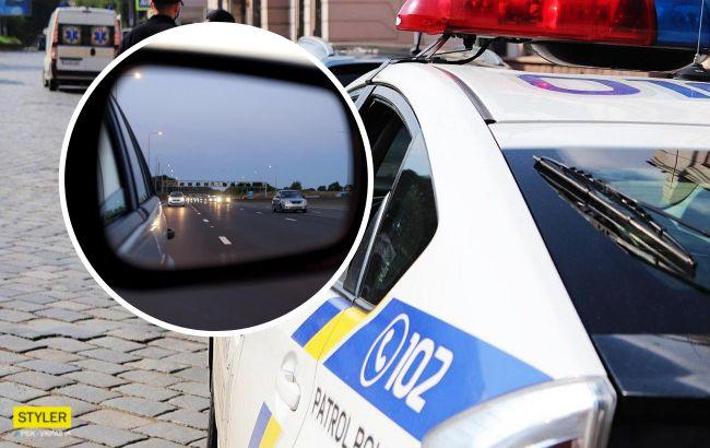 Поки мама платила за бензин, негідник викрав її дочку: деталі ПП у Борисполі. Відео