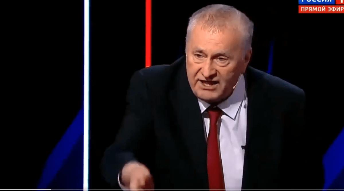 """Все прос*али ви"""": Жириновський влаштував істерику в прямому ефері через українську мову - ВГОЛОС"""