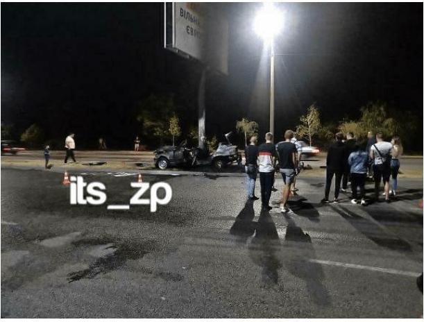 В Запоріжжі згоріли троє студентів у жахливій ДТП (фото, відео)