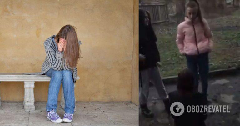 Дівчата жорстоко побили свою однолітку: відео знущання (18+)