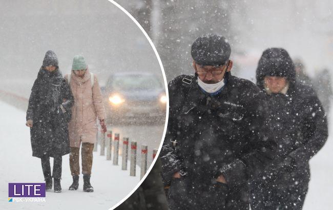 Синоптик обіцяє українцям снігопади, хуртовини та морози