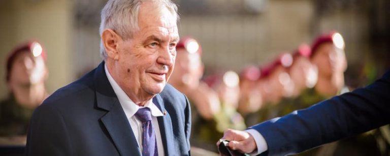 Президент Чехії  сьогодні виступить із надзвичайним зверненням