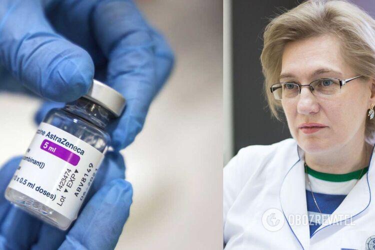 Голубовська пояснила виникнення тромбозів після AstraZeneca: кому можна та протипоказано вакцинуватися