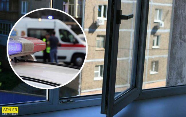 У Дніпрі чоловік викинувся з вікна 8 поверху і впав на жінку