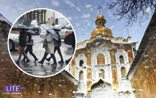 З'явився прогноз погоди на Великдень: кому знадобляться парасольки на свята